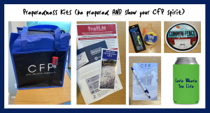 Who Wants a CFP Swag Bag and Storm Preparedness Kit?